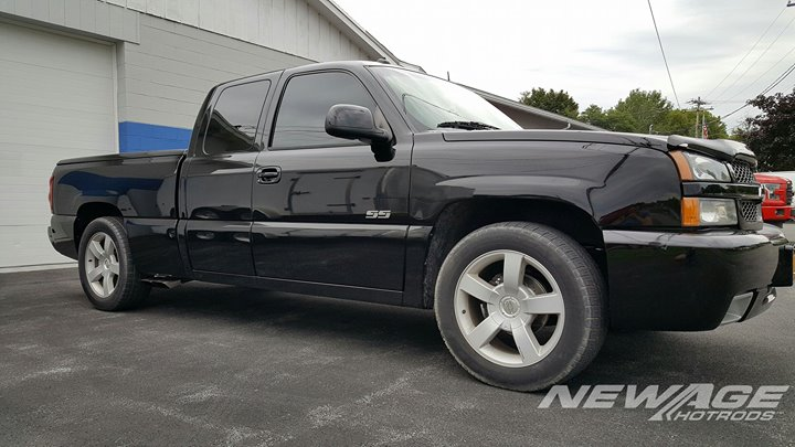 2003 SS pickup in after a rebuilt engine and added Whipple